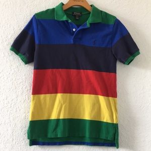 Boys Polo Ralph Lauren Shirt Size L 14-16